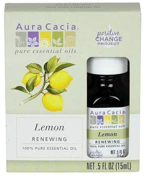 Aura Cacia Lemon Essential Oil - .5oz