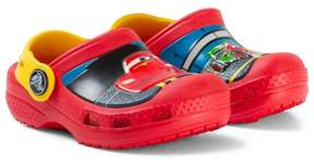 Crocs Flame Red and Yellow McQueen & Francesco Cars Clogs