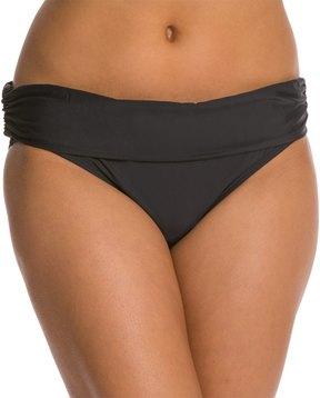 Athena Cabana Solids Banded Bikini Bottom 8120973