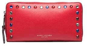 Marc Jacobs Women's Leather ¿pyt¿ Continental Wallet Red. - RED - STYLE