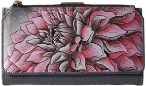 Anuschka Handbags - 1114 Organizer Wallet/Clutch Handbags