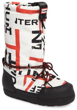 Hunter Women's Exploded Logo Snow Boot