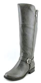G by Guess Hailee Women Round Toe Synthetic Gray Knee High Boot.