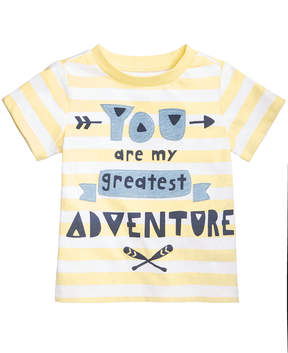 First Impressions Adventure-Print Cotton T-Shirt, Baby Boys, Created for Macy's