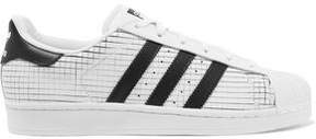 adidas Superstar Scored Leather Sneakers