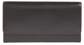 Women's Lodis Audrey- Cami Rfid Leather Clutch Wallet - Black