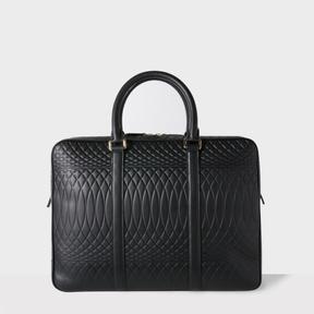 Paul Smith No.9 - Black Leather Slim Business Folio