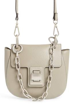 Steve Madden Draped Chain Faux Leather Crossbody Bag