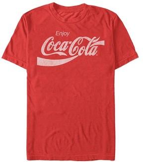 Fifth Sun Red 'Enjoy Coca-Cola' Logo Tee - Men