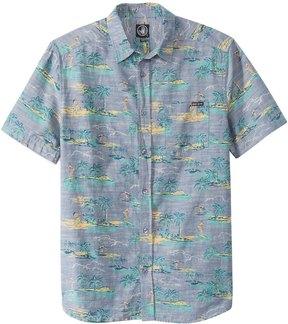 Body Glove Men's Beach Boy Short Sleeve Shirt 8153243