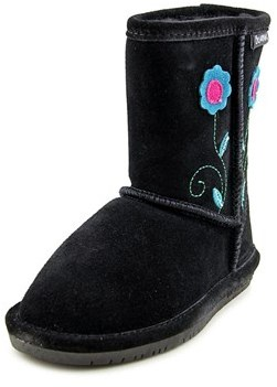 BearPaw Buttercup Round Toe Suede Winter Boot.