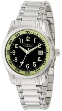 Bulova Caravelle by Men's 43B115 'Bracelet' Stainless Steel Quartz Watch