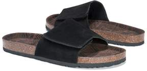 Muk Luks Black Jackson Sandal - Men