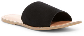 Rebels Bettye Suede Slide Sandal