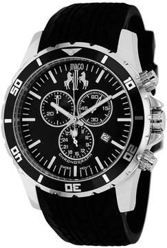 Jivago Mens Black Strap Watch-Jv0121