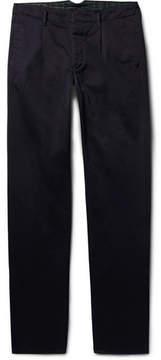 Incotex Slim-Fit Cotton-Twill Chinos