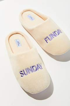 Urban Outfitters Sunday Funday Slipper