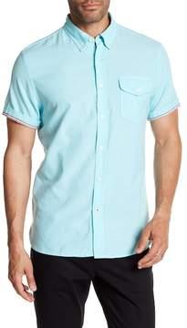 Jachs Short Sleeve Classic Fit Shirt