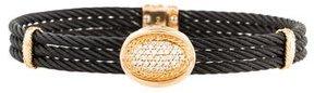 Charriol 18K Diamond Cable Bracelet