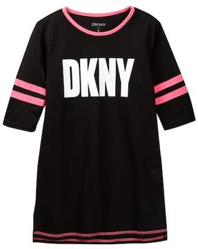 DKNY Girls Athletic Dorm Shirt (Big Girls)