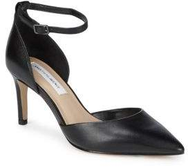 Saks Fifth Avenue Mia Leather D'Orsay Pumps