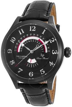Lucien Piccard The Capital Black Dial Men's Watch