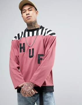 HUF Long Sleeve T-Shirt With Large Logo