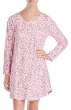 Eileen West Cotton Pattern Print Sleepwear