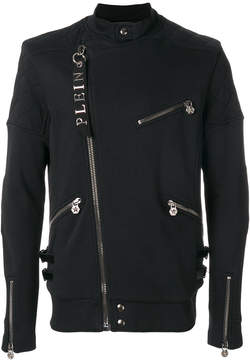 Philipp Plein zip detailed jacket