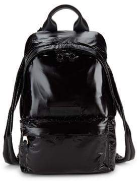 McQ Textured Logo Backpack