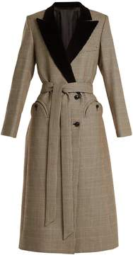 DAY Birger et Mikkelsen BLAZÉ MILANO If And When Pow velvet-lapel tie-waist coat