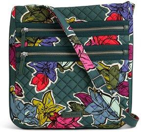 Vera Bradley Iconic Triple Zip Hipster Cross-Body Bag - FALLING FLOWERS - STYLE