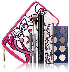 Estee Lauder Limited-Edition Pink Ribbon Knockout Eyes Collection