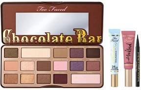Too Faced Eyes & Lips Set with Chocolate Bar Eye Shadow Palette