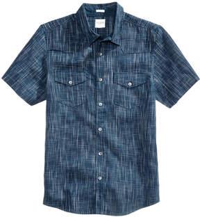 GUESS Men's Gunner Crosshatch Shirt