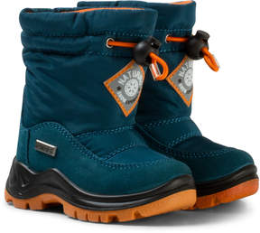 Naturino Navy and White Varna Waterproof Boots