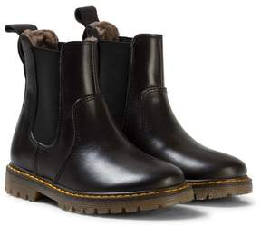 Bisgaard Boots Leather Lining Black