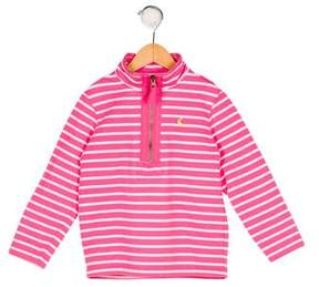 Joules Girls' Striped Knit Sweater