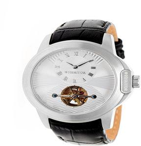 Heritor Mens Black Strap Watch-Herhr4201