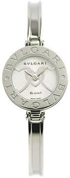 Bvlgari B.zero1 Silver Dial Stainles Steel Ladies Watch
