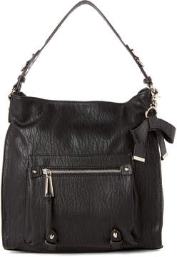 Jessica Simpson Black Tatiana Hobo Bag