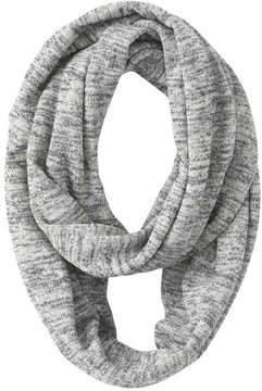 Joe Fresh Women's Print Circle Scarf, Grey Mix (Size O/S)