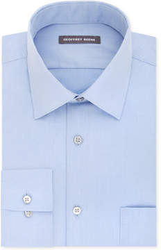 Geoffrey Beene Men's Fitted Wrinkle Free Bedford Cord Dress Shirt