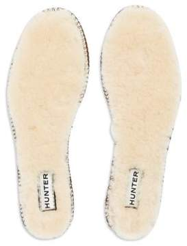 Hunter Shearling Insole