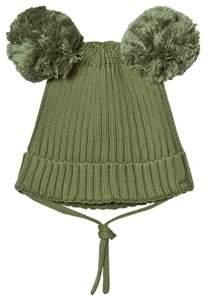 Mini Rodini Green Ear Hat