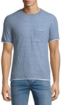 Rag & Bone Men's Tripp Contrast-Trim T-Shirt