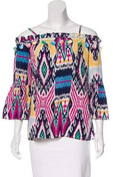 Figue Printed Silk Blouse