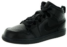 Jordan Nike Kids 1 Mid Bp Basketball Shoe.