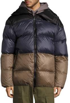 Public School Multi Gombu Puffer Hooded Down Jacket