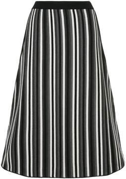 Antonio Marras knitted stripe skirt